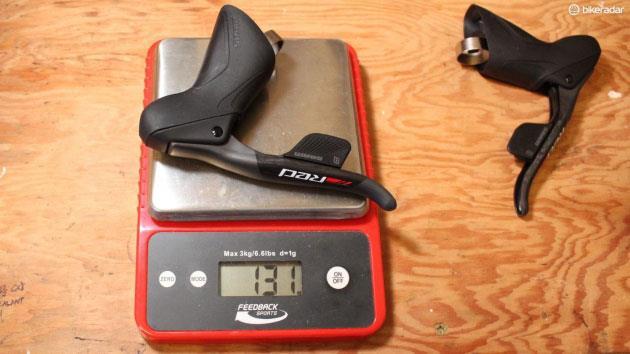 Вес компонентов шоссейного велосипеда