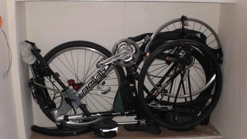 Как хранить велосипед на балконе зимой