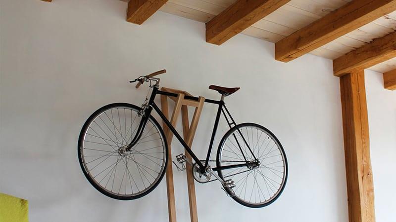 Как хранить велосипед дома