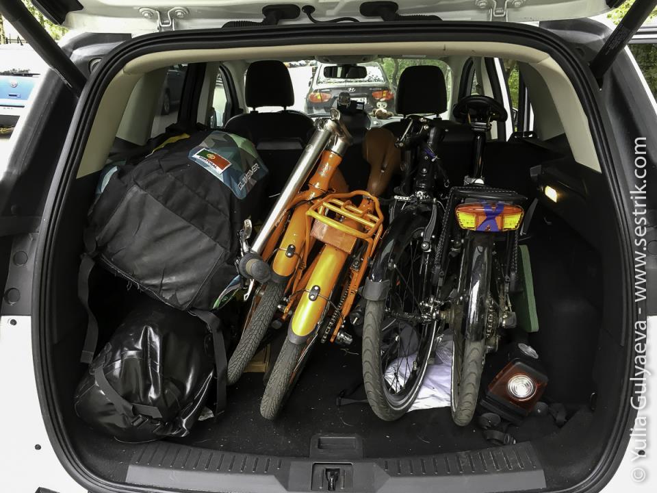 folding-bikes-in ford kuga