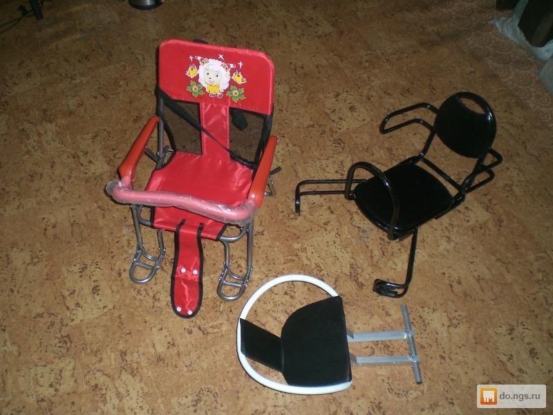 Продам новое детское велокресло, крепится на багажник или на раму Цена - 700.00 руб., Егорьевск - НГС.ОБЪЯВЛЕНИЯ