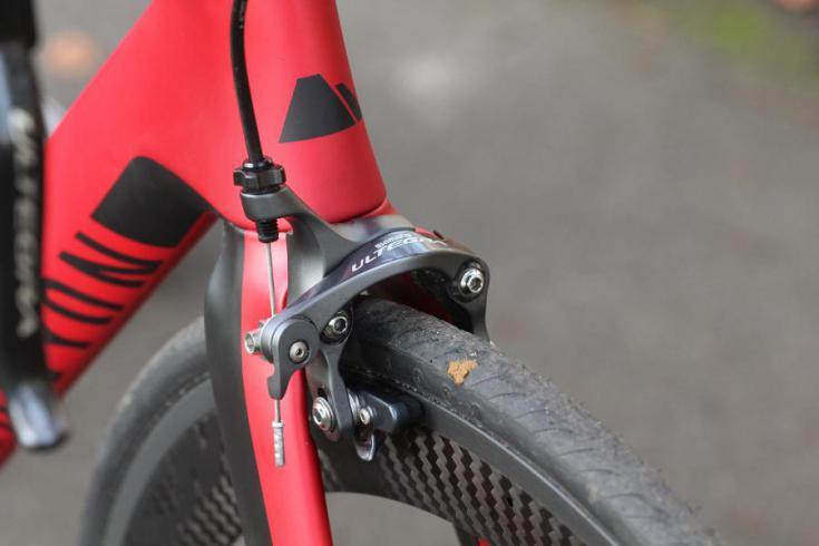 Canyon Aeroad - front brake