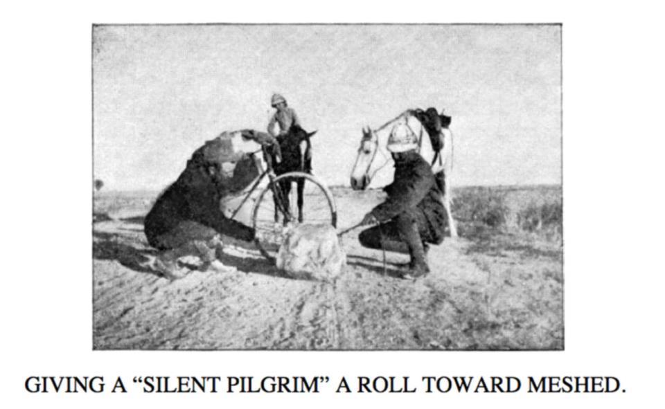 исторический велопробег по Азии, Aллен Гаскелл и Вильям Сахтлебен