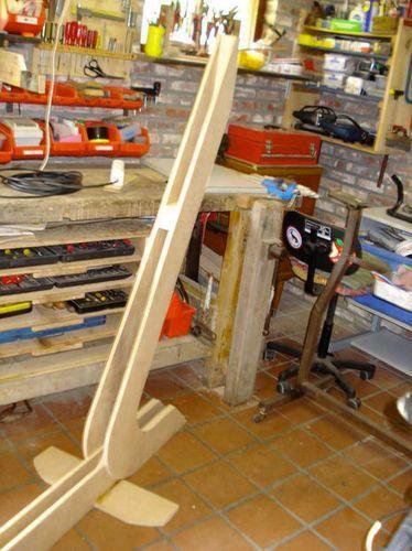 деревянная подставка