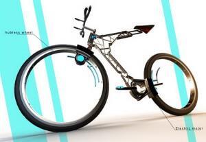 Электровелосипед без спиц Сильвера Жабена