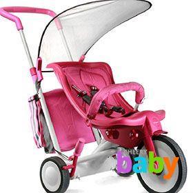 Детские велоколяски для малышей