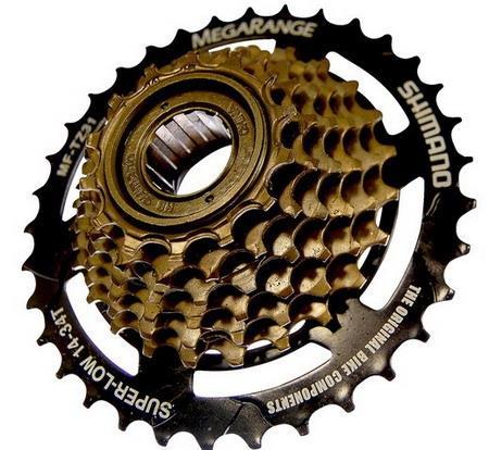 Кассета на велосипед