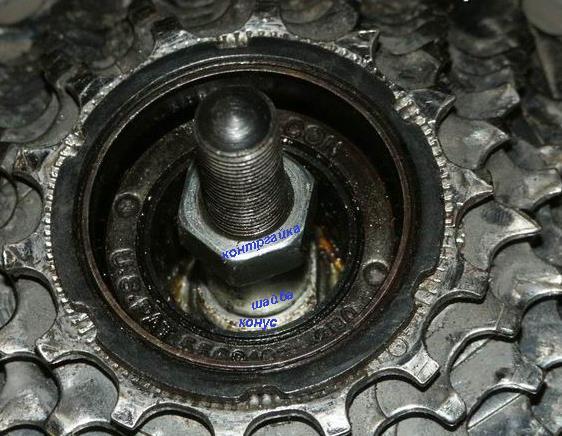 ремонт заднего колеса велосипеда