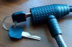 ключик самый обычный механизм секретности штифтовой