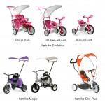 детские трехколесные велосипеды Italtrike_Italtrike Evolution_Italtrike Magic_Italtrike Oko Plus