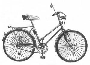 Велосипеды Орленок и Ласточка