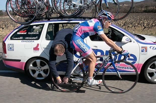Проверка исправности велосипеда