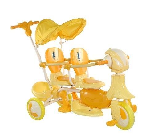 детский двойной велосипед Amalfy Twin слабый выбор