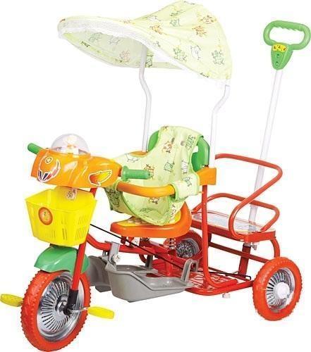 детский велосипед для двойни Glory