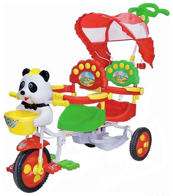 велосипед для двойни Lider Kids яркий