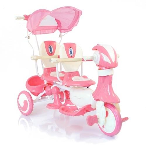 детский двойной велосипед Amalfy Twin для дошкольников