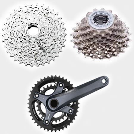 Выбор велосипедных передач