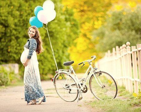 Можно или нельзя кататься на велосипеде беременным?