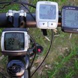 Проводной и беспроводной велокомпьюте