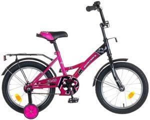 двухколесный велосипед для детей novatrack 16 fr-10