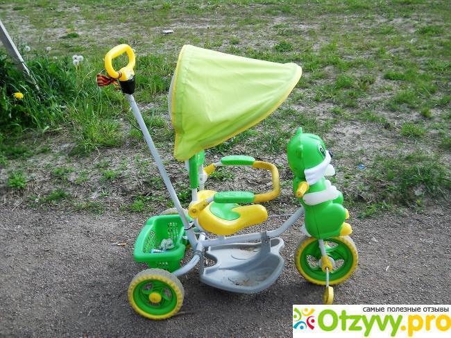 Детский трехколесный велосипед с ручкой Elit A14-2 отрицательные отзывы