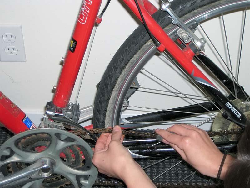 способов борьбы со ржавчиной на велосипедных деталях