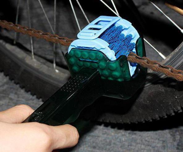 Как убрать ржавчину с велосипеда