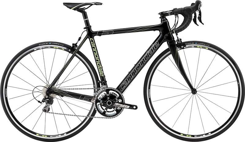 Карбоновый шоссейный велосипед Cannondale Supersix 5 105 для гонок