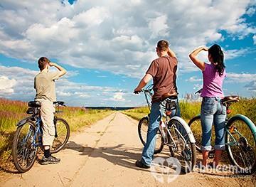 Катание на велосипеде - калории и похудение