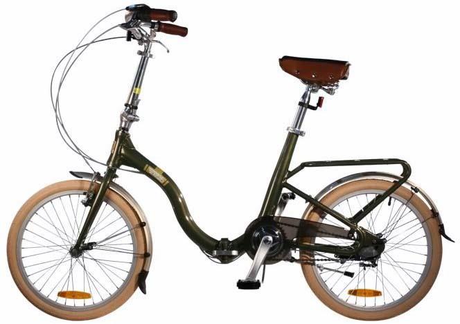 Недорогой складной велосипед Citizen Barcelona