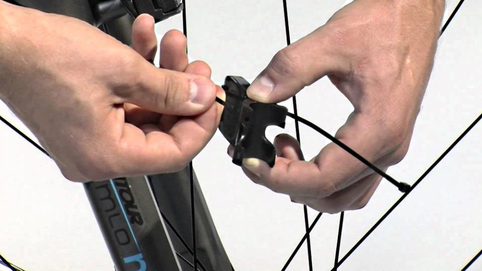 Датчик колеса велокомпьютера