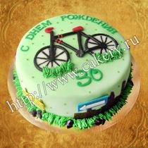 купить торт для велосипедиста