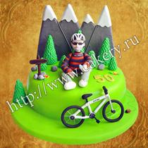 торт велосипедисту