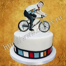 торт велосипед на заказ