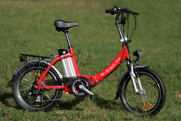 Складной электровелосипед Motus GR. Магазин велосипедов E-Trail.