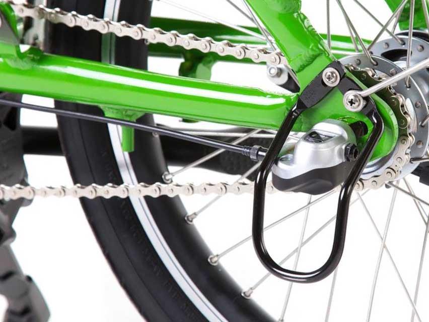 Регулировка натяжения цепи на велосипедах с планетарной втулкой