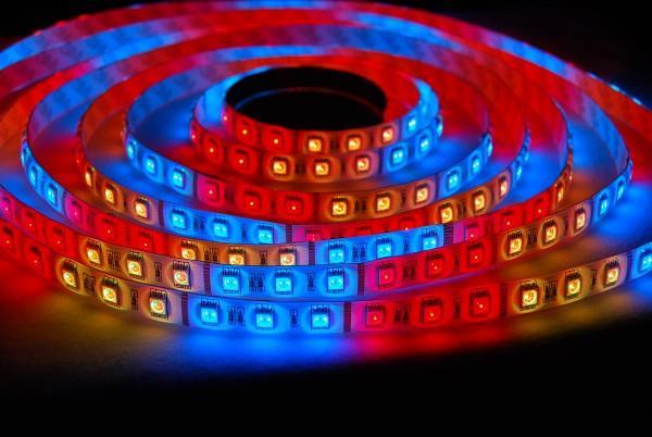 разноцветная светодиодная лента