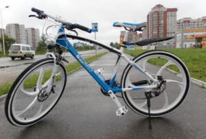 Велосипед на литых дисках BMW X6