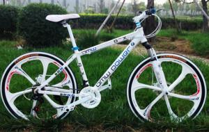 Складной велосипед BMW Power White Deore