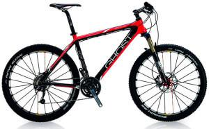 Горный велосипед Ghost с карбоновой рамой