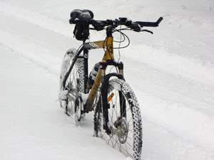 Где и как хранить велосипед зимой