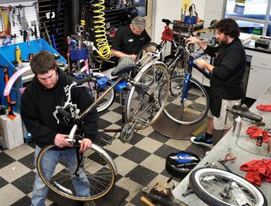 обслуживание горного велосипеда