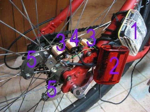 Бесконтактная велосипедная динамо-машина своими руками