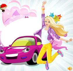 Барби и ее машина