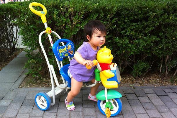 велосипед детский с ручкой