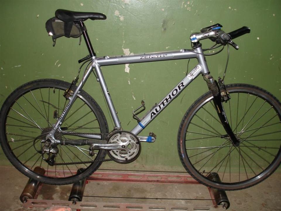 Самодельный велотренажер