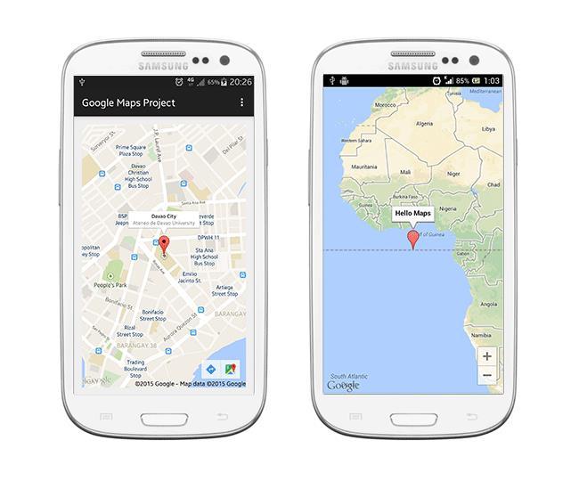 Google Maps - вполне неплохой навигатор для Андроид