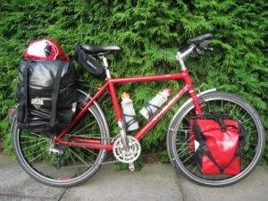 туринг- туристический велосипед