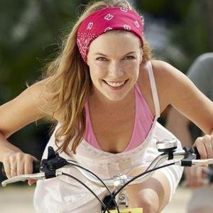 Велосипед помогает похудеть в области бедер