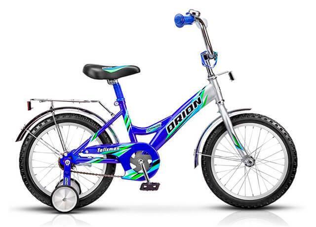 Детский велосипед с дополнительными колесами Orion Talisman